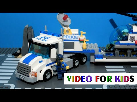 Vidéo LEGO City 60049 : Le transport de l'hélicoptère