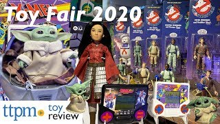 The Coolest Toys from Hasbro at Toy Fair 2020 - Nerf, Trolls, Baby Yoda, Ghostbusters, Frozen 2, Mulan