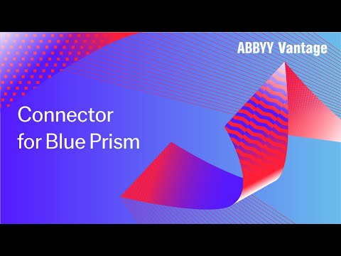 How to Activate Vantage Skill in Blue Prism