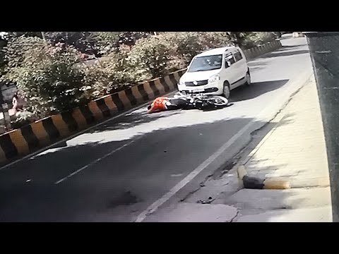 Unbelievable Accident Caught On My CCTV Camera