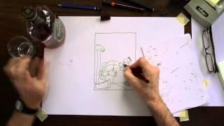 How I Draw Single Panel Cartoons