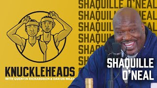 Shaq AKA The Big Diesel Joins Q & D | Knuckleheads S3: E1 | The Players' Tribune