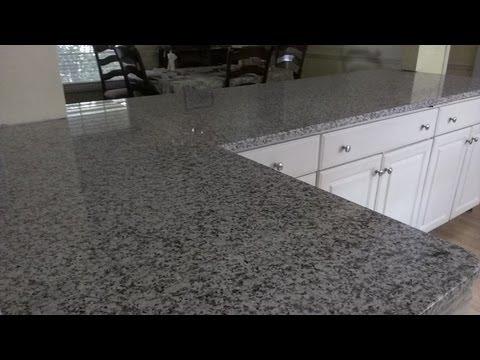 Como instalar mesones de cocina de granito
