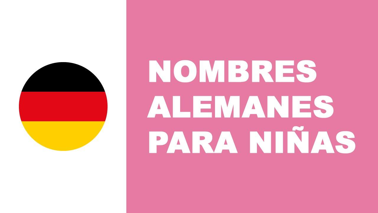 Nombres alemanes para niñas