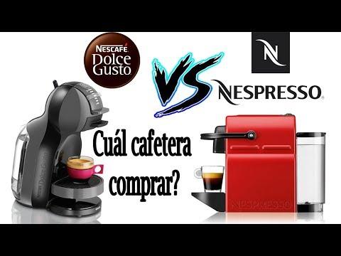 Nespresso VS Dolce Gusto - Que cafetera comprar???