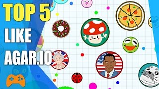 Top 5 games like Agar.io | Best alternative for Agar.io