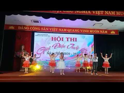 """Song ca """"Ai yêu Bác Hồ Chí Minh"""" (Tiết mục dự thi """"Giai điệu tuổi hồng"""" thị xã Phổ Yên năm 2020)"""