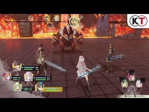 New Battle Trailer de Atelier Lulua : The Scion of Arland
