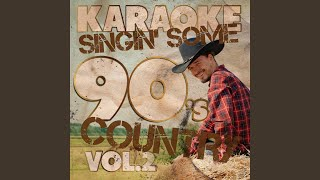 I Fell in the Water (In the Style of John Anderson) (Karaoke Version)
