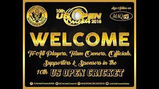 10th US OPEN CRICKET 2018 LIVE FROM Central Broward Regional Park & Stadium | Kholo.pk
