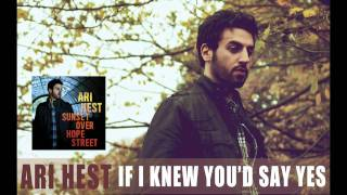 "Ari Hest - ""If I Knew You'd Say Yes"" [Audio Only]"