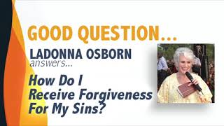 How Do I Receive Forgiveness For My Sins?