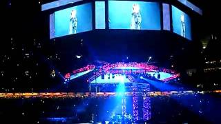 Justin Beiber-With You by Chris Brown-Houston Rodeo 2010