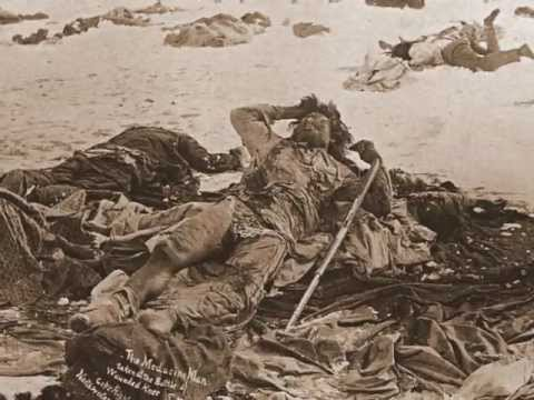 Wounded Knee by Buddy Red Bow in Deutsch