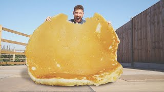 I Made the World Biggest Pancake, I Call It... the Biggest Pancake in the World!