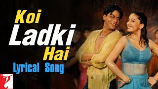 Koi Ladki Hai Song with Lyrics | Dil To Pagal Hai   - YouTube