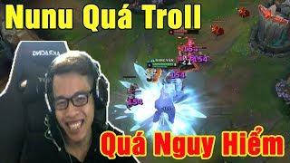 Mid Nunu vs Leblanc - Quá Troll Quá Nguy Hiểm   Cười Đau Bụng - Trâu best Udyr