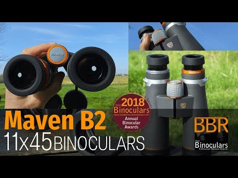 Best Binoculars 2018 Awards – Maven B2 11×45 winner binocular of the year