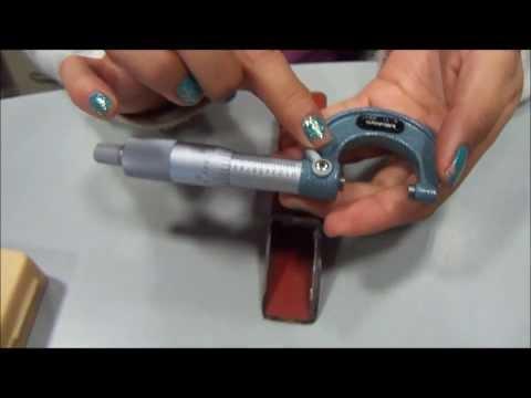 Uso y manejo de instrumentos de medición dimensional.