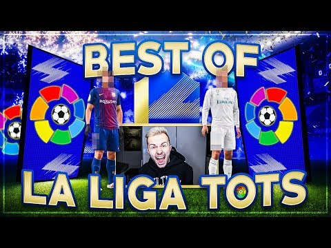 FIFA 18: BEST OF La Liga TOTS Pack Opening 😱🔥