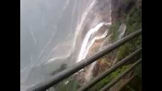 preview picture of video 'Cherrapunji water fall during july'