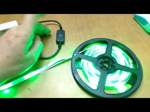 Кнопка включения для SMD светодиодных лент LED