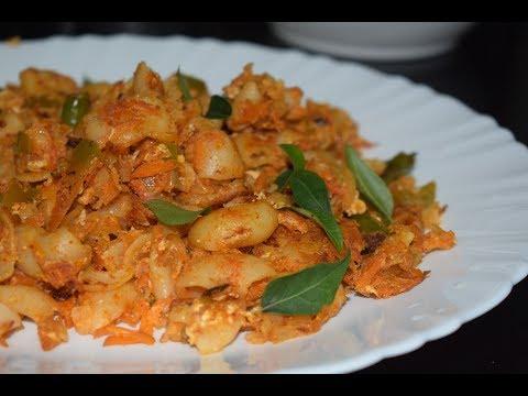Indian-Style Egg Macaroni Pasta Recipe in Malayalam | Macaroni with Egg | Indian Style Recipes