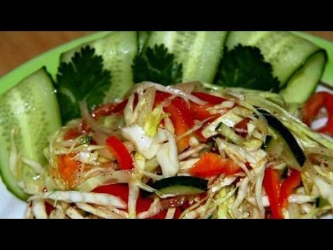 Салат из капусты с помидорами Задонский