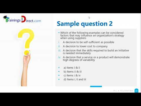 ITIL 4 Foundation Question and Answers Official Axelos Sample ...