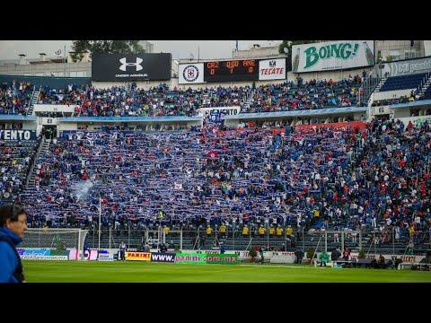 """""""La Sangre Azul • Cruz Azul vs América • 4 - 0 • Clásico Jóven 2014"""" Barra: La Sangre Azul • Club: Cruz Azul"""