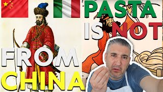 PASTA IS NOT from CHINA and this is the TRUTH of Pasta History
