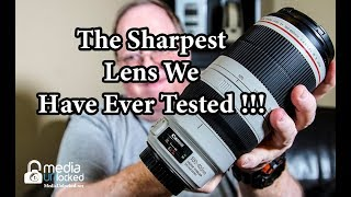 Canon EF 100-400mm f/4.5-5.6L IS II USM Lens Review Sharpest Lens We Have Ever Used!!!