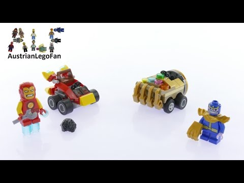 Vidéo LEGO Marvel Super Heroes 76072 : Mighty Micros : Iron Man contre Thanos