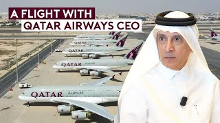 A Special Flight with Qatar Airways CEO – World's First Fully Vaccinated Flight