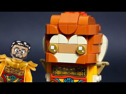 Vidéo LEGO BrickHeadz 40381 : Monkey King (Monkie Kid)