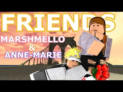 FRIENDS - Marshmello & Anne-Marie | Roblox Music Video