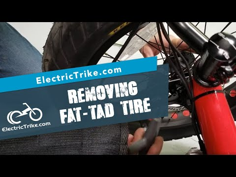 Electric Trike | Removing the Fat-Tad Front Tire