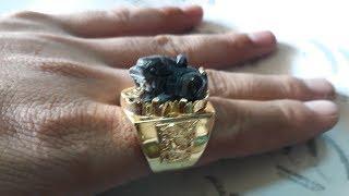 18k gold ring made manual for men