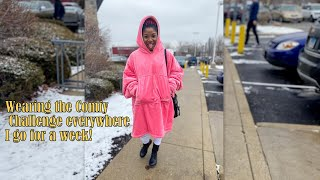 WEARING THE COMFY CHALLENGE EVERYWHERE | for a week