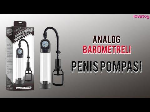 Lovetoy Analog Barometreli Penis Pompası