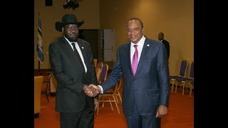 Kenya- South Sudan Ties _ South Sudan President meets President Uhuru _ Joint address