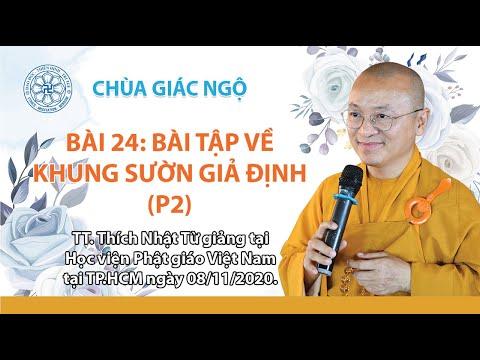 Bài tập về khung sườn giả định (tiếp theo) - Phương pháp nghiên cứu Phật học