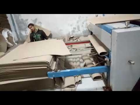 SCC-150 Single Facer Paper Corrugation Machine