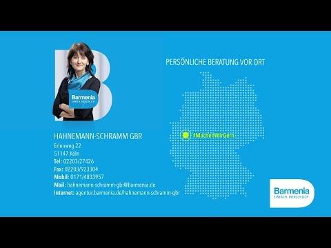 Video 1 Barmenia Versicherung - Marina Hahnemann-Schramm