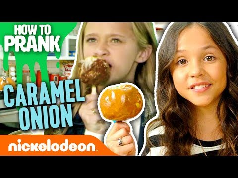 School of Rock's Breanna Yde | How to Prank with Onions | Nick