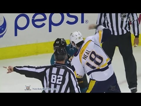 Tommy Wingels vs. James Neal