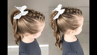 Mohawk Braided Ponytail | Qs Hairdos