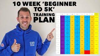 10 week 'beginner to 5k' training plan