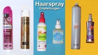 Haarspray Empfehlungen und ein paar Tipps und Tricks