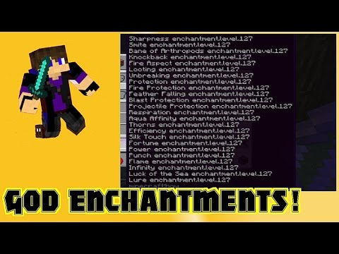 God Enchantments! (How to) Minecraft Blog